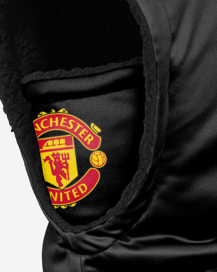 Manchester United FC Black Hooded Snood FOCO - FOCO.com | UK & IRE