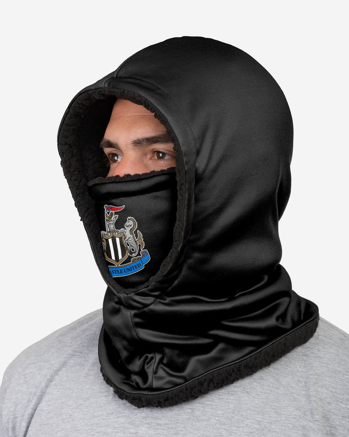 Newcastle United FC Black Hooded Snood FOCO - FOCO.com | UK & IRE