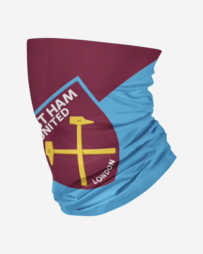 West Ham United FC Big Logo Snood Scarf FOCO Adult - FOCO.com | UK & IRE