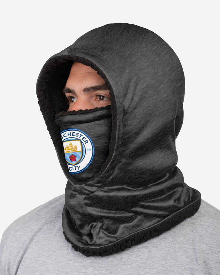 Manchester City FC Dark Grey Hooded Snood FOCO - FOCO.com | UK & IRE