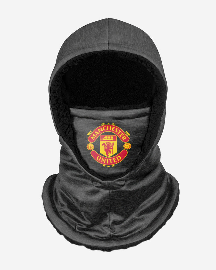 Manchester United FC Dark Grey Hooded Snood FOCO - FOCO.com | UK & IRE