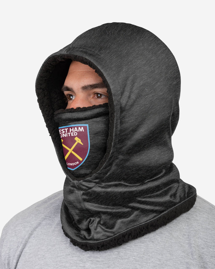West Ham United FC Dark Grey Hooded Snood FOCO - FOCO.com | UK & IRE