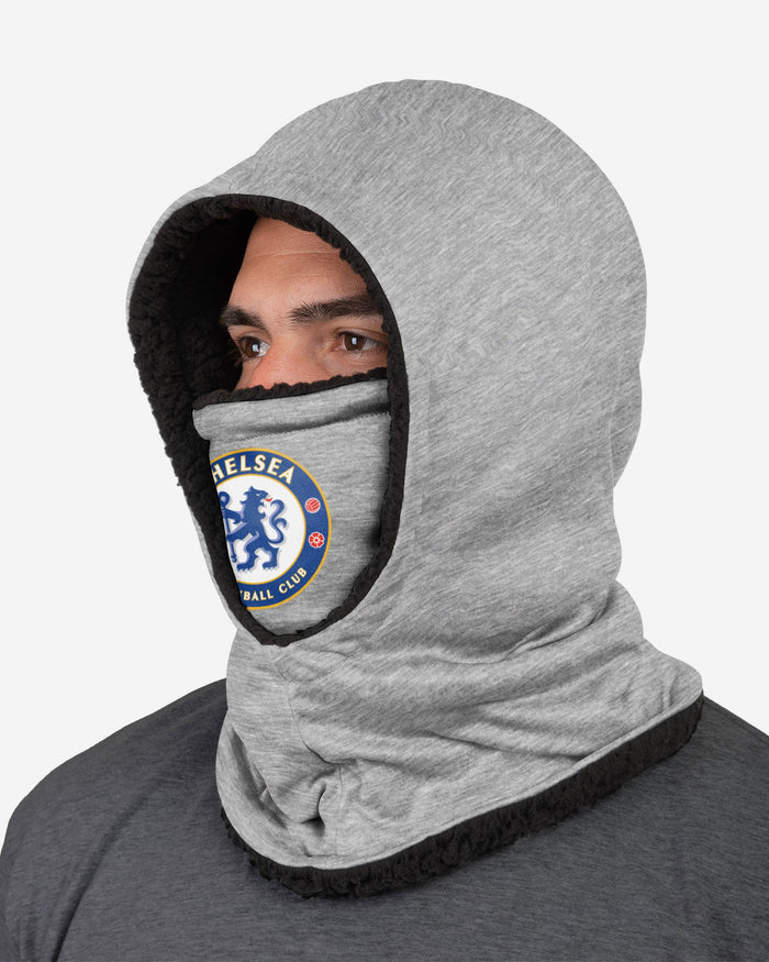 Chelsea FC Grey Hooded Snood FOCO - FOCO.com | UK & IRE