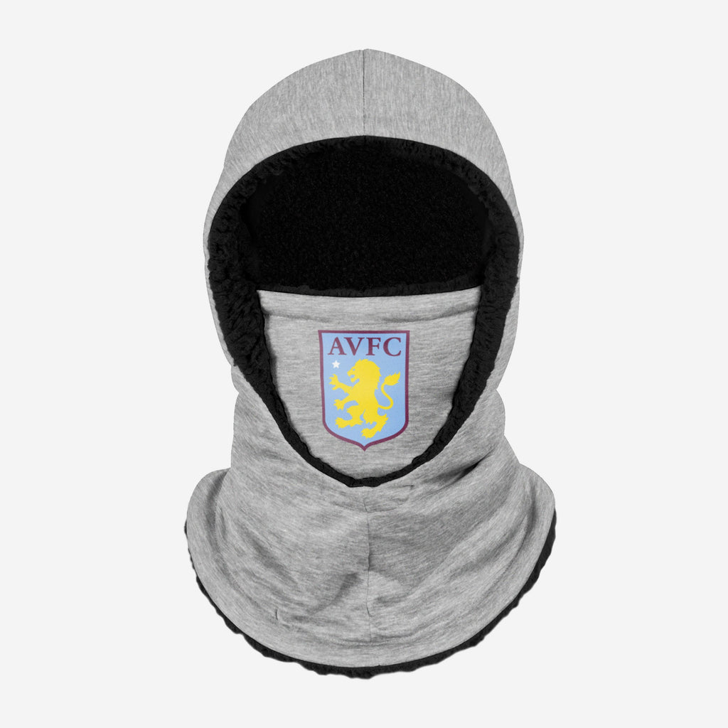 Aston Villa FC Grey Hooded Snood FOCO - FOCO.com | UK & IRE