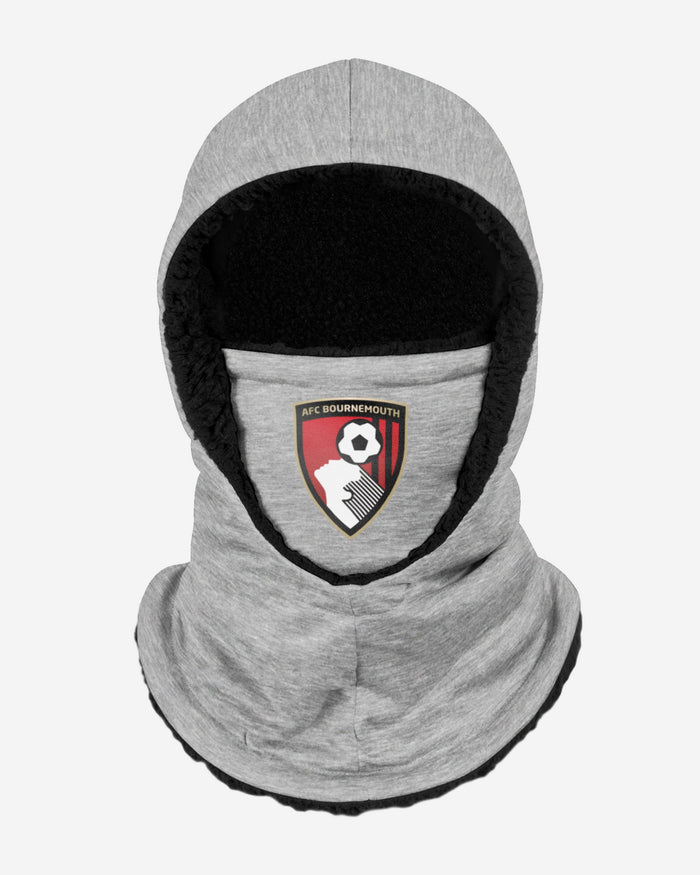 AFC Bournemouth FC Grey Hooded Snood FOCO - FOCO.com | UK & IRE