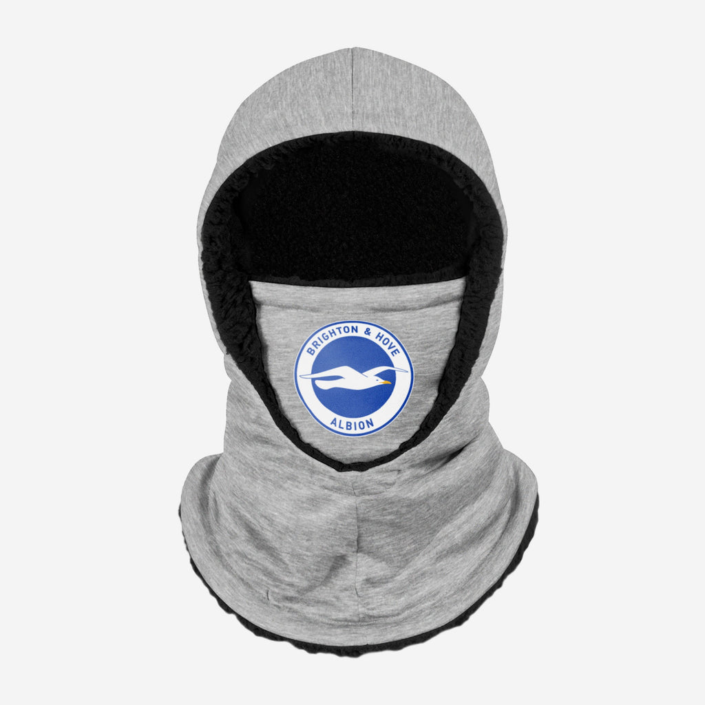 Brighton & Hove Albion FC Grey Hooded Snood FOCO - FOCO.com | UK & IRE