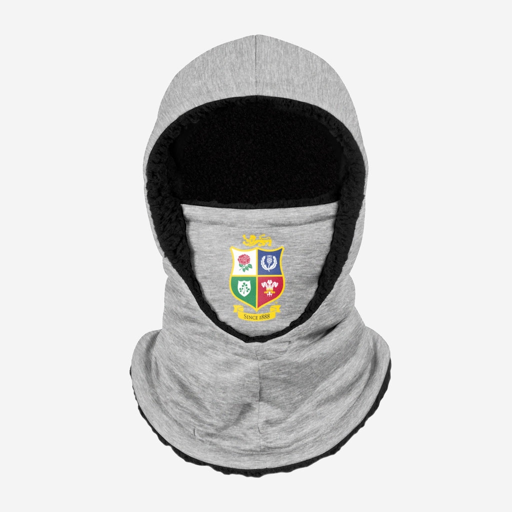 British & Irish Lions Grey Hooded Snood FOCO - FOCO.com | UK & IRE