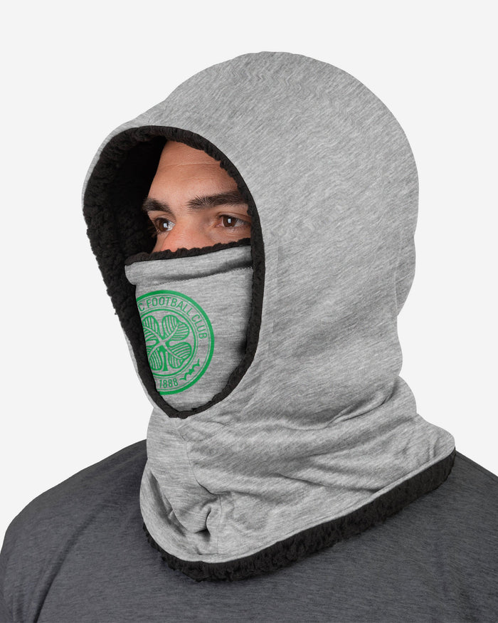 Celtic FC Grey Hooded Snood FOCO - FOCO.com | UK & IRE