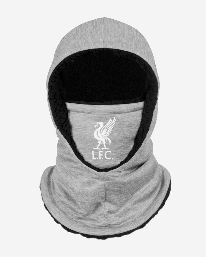 Liverpool FC Grey Hooded Snood FOCO - FOCO.com | UK & IRE