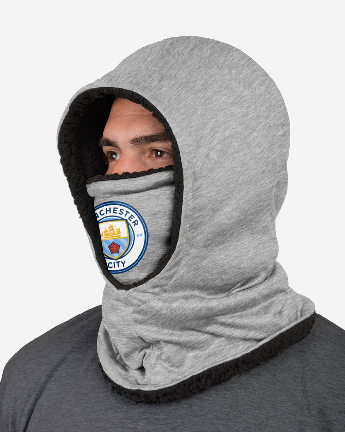 Manchester City FC Grey Hooded Snood FOCO - FOCO.com | UK & IRE