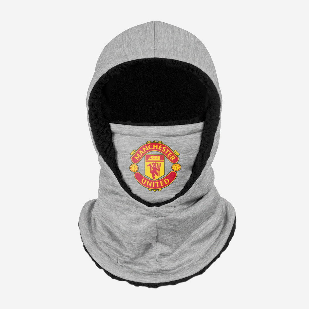 Manchester United FC Grey Hooded Snood FOCO - FOCO.com | UK & IRE