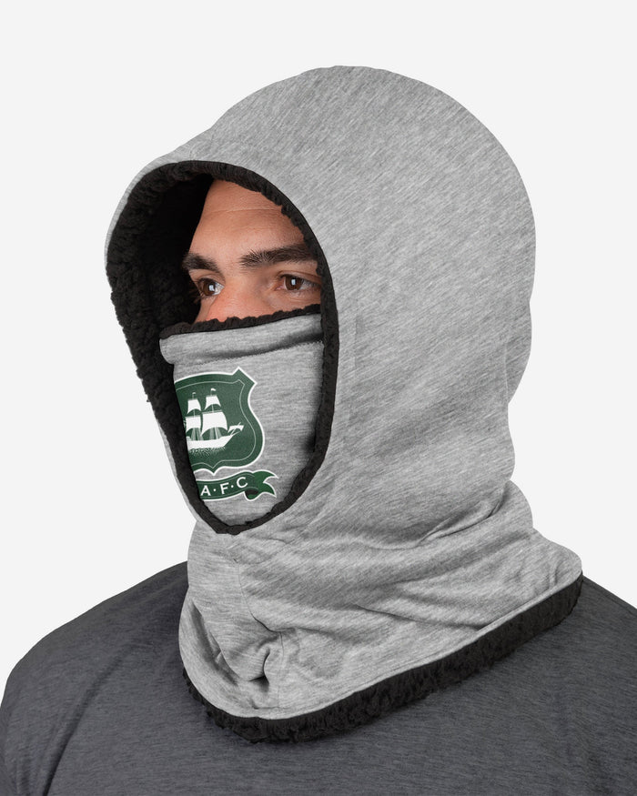 Plymouth FC Grey Hooded Snood FOCO - FOCO.com | UK & IRE