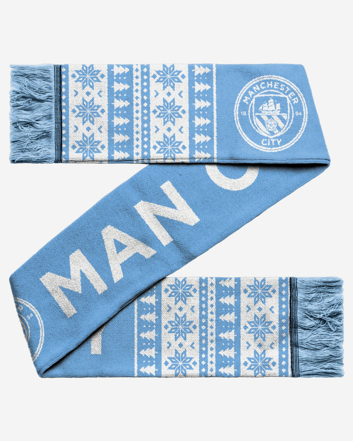 Manchester City FC Holiday Scarf FOCO - FOCO.com | UK & IRE