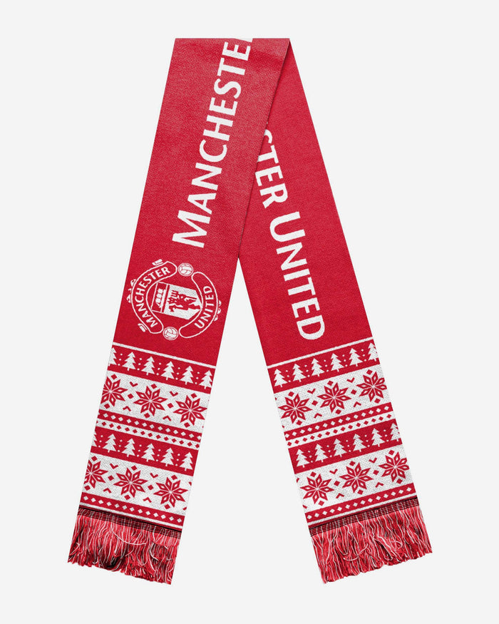 Manchester United FC Holiday Scarf FOCO - FOCO.com | UK & IRE