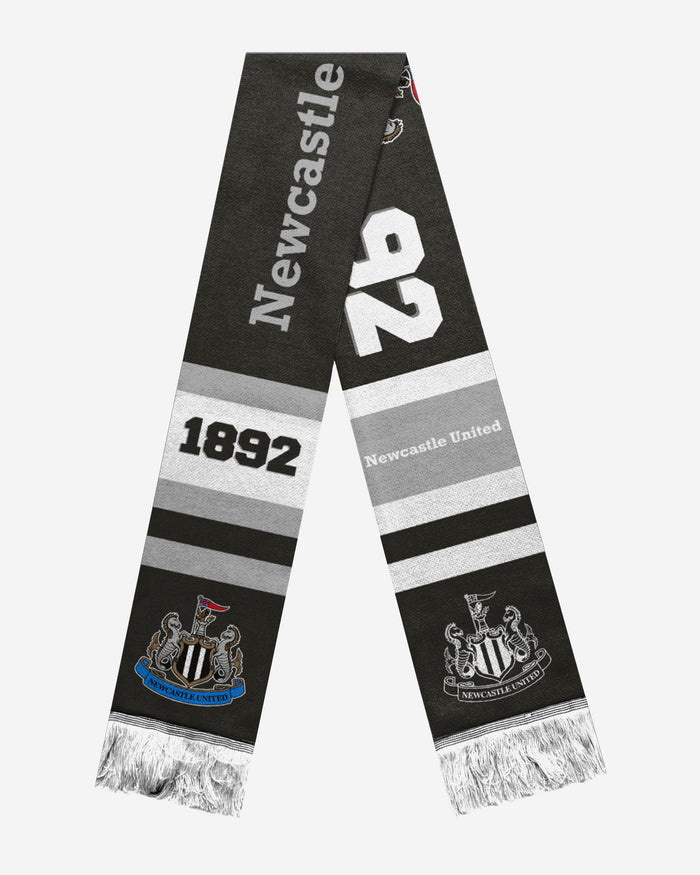 Newcastle United FC Retro Scarf FOCO - FOCO.com | UK & IRE