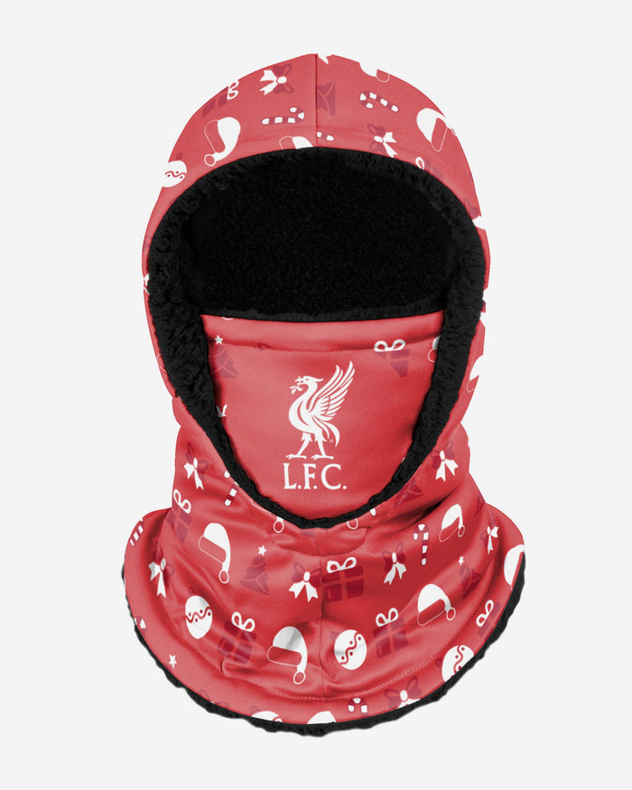 Liverpool FC Christmas Hooded Snood FOCO - FOCO.com | UK & IRE