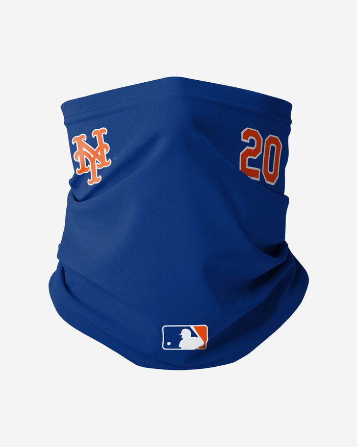 Pete Alonso New York Mets On-Field Gameday Snood Scarf FOCO - FOCO.com | UK & IRE