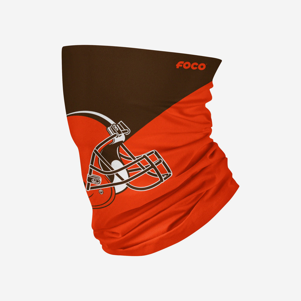 Cleveland Browns Big Logo Snood Scarf FOCO Adult - FOCO.com | UK & IRE