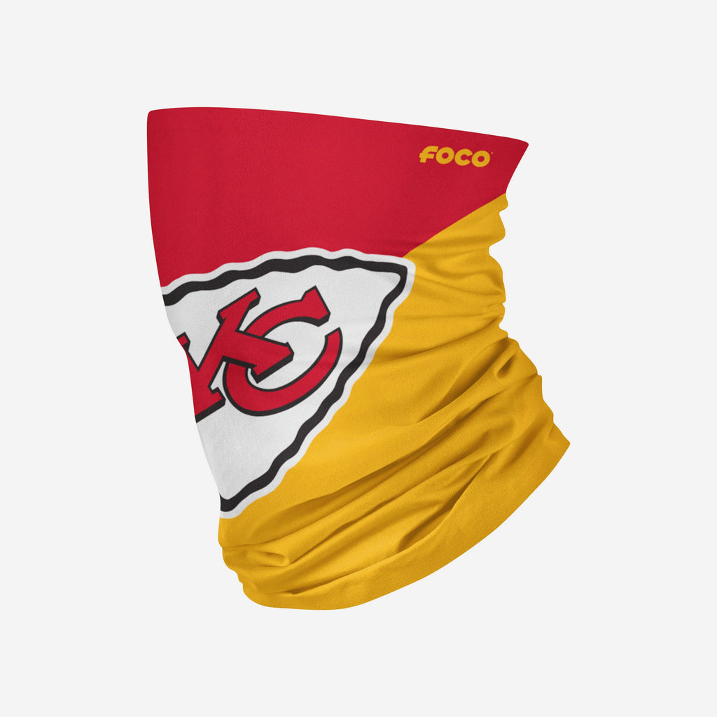 Kansas City Chiefs Big Logo Snood Scarf FOCO Adult - FOCO.com | UK & IRE