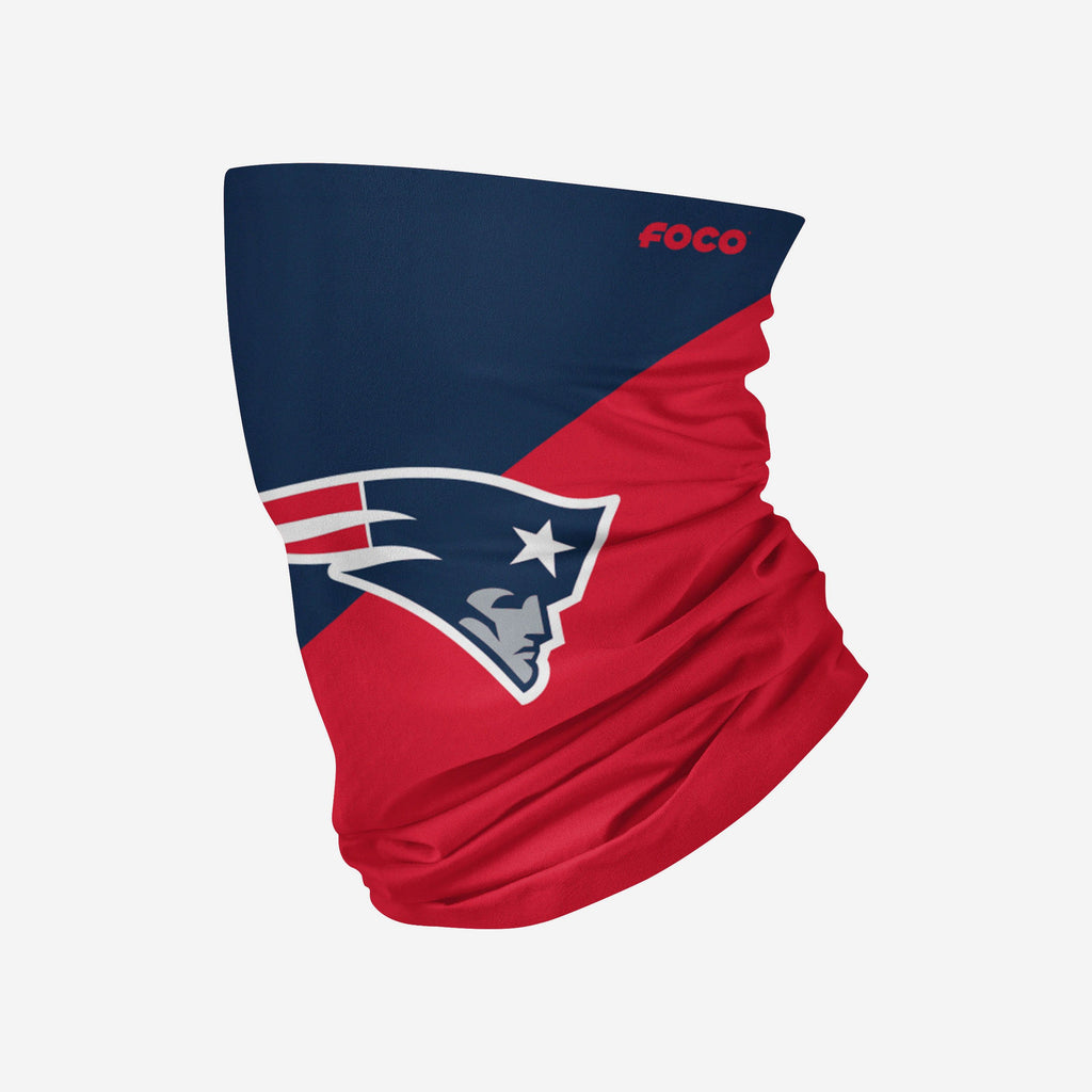 New England Patriots Big Logo Snood Scarf FOCO Adult - FOCO.com | UK & IRE