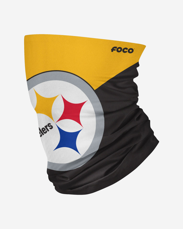 Pittsburgh Steelers Big Logo Snood Scarf FOCO Adult - FOCO.com | UK & IRE