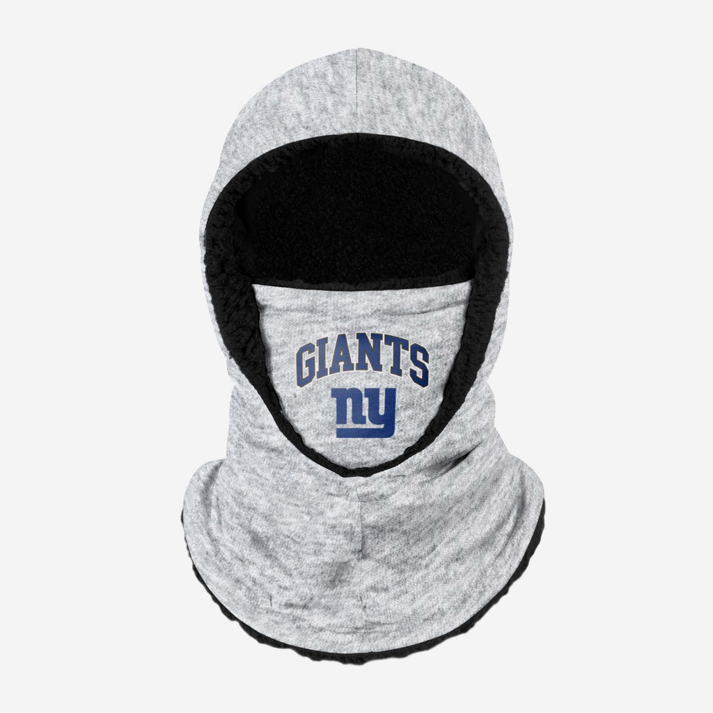 New York Giants Heather Grey Big Logo Hooded Snood FOCO - FOCO.com | UK & IRE