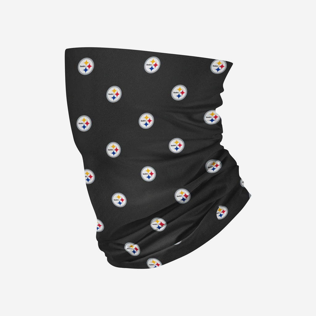 Pittsburgh Steelers Mini Print Logo Snood Scarf FOCO - FOCO.com | UK & IRE