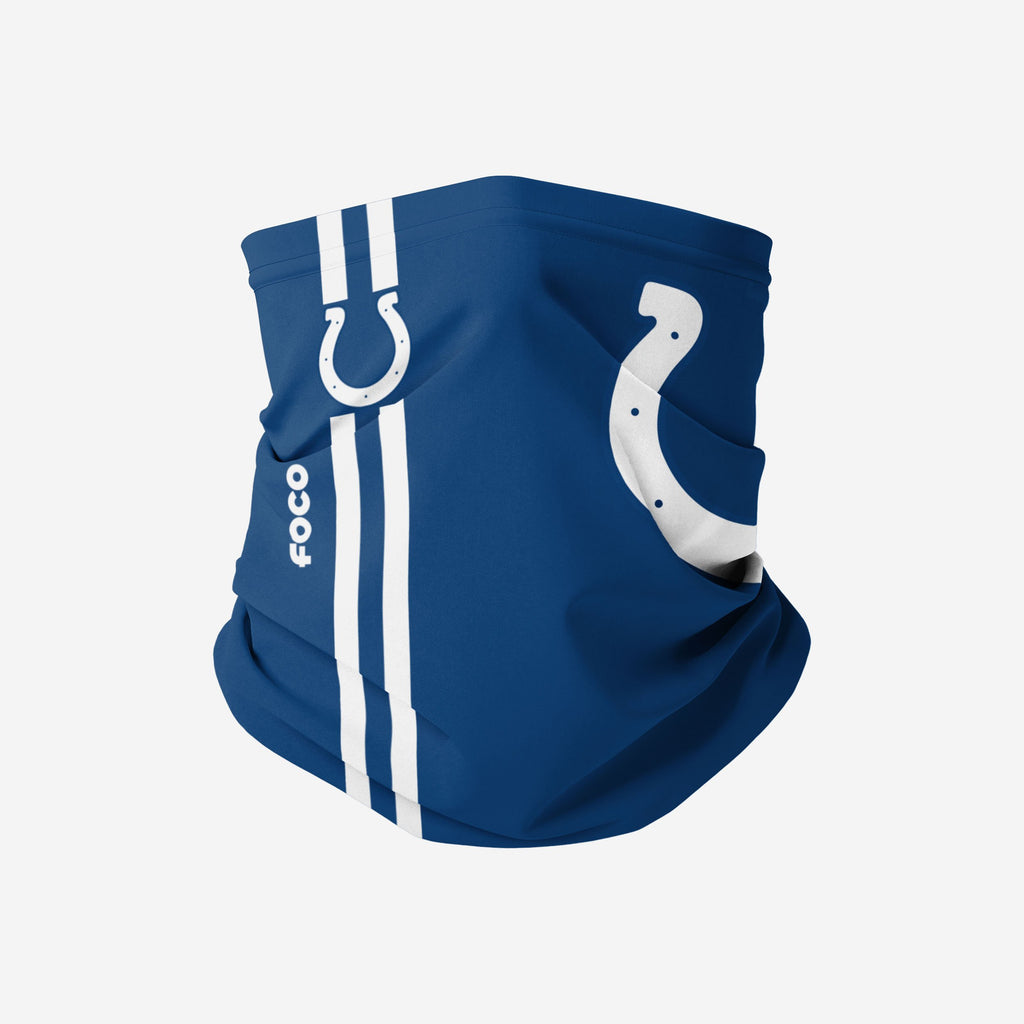 Indianapolis Colts On-Field Sideline Logo Snood Scarf FOCO Adult - FOCO.com | UK & IRE