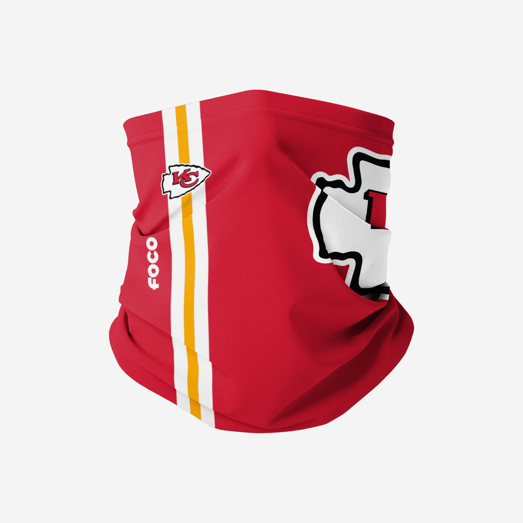 Kansas City Chiefs On-Field Sideline Logo Snood Scarf FOCO Adult - FOCO.com | UK & IRE