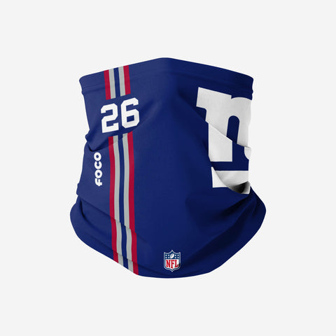 Saquon Barkley New York Giants On-Field Sideline Logo Snood Scarf
