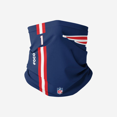 Cam Newton New England Patriots On-Field Sideline Logo Snood Scarf