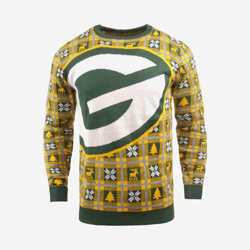 Green Bay Packers Big Logo Sweater FOCO S - FOCO.com | UK & IRE