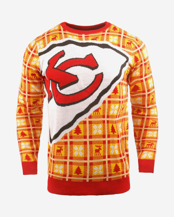 Kansas City Chiefs Big Logo Sweater FOCO S - FOCO.com | UK & IRE