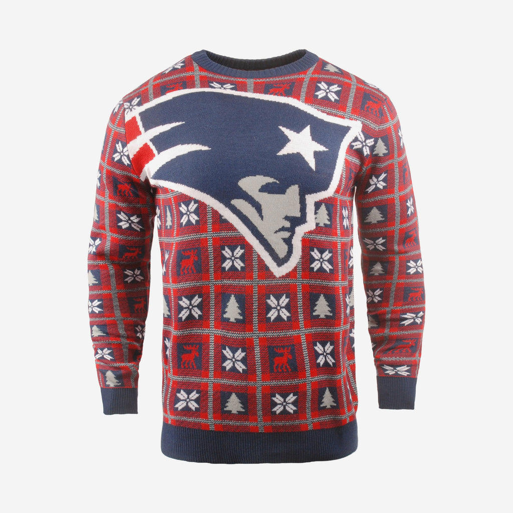 New England Patriots Big Logo Sweater FOCO S - FOCO.com | UK & IRE