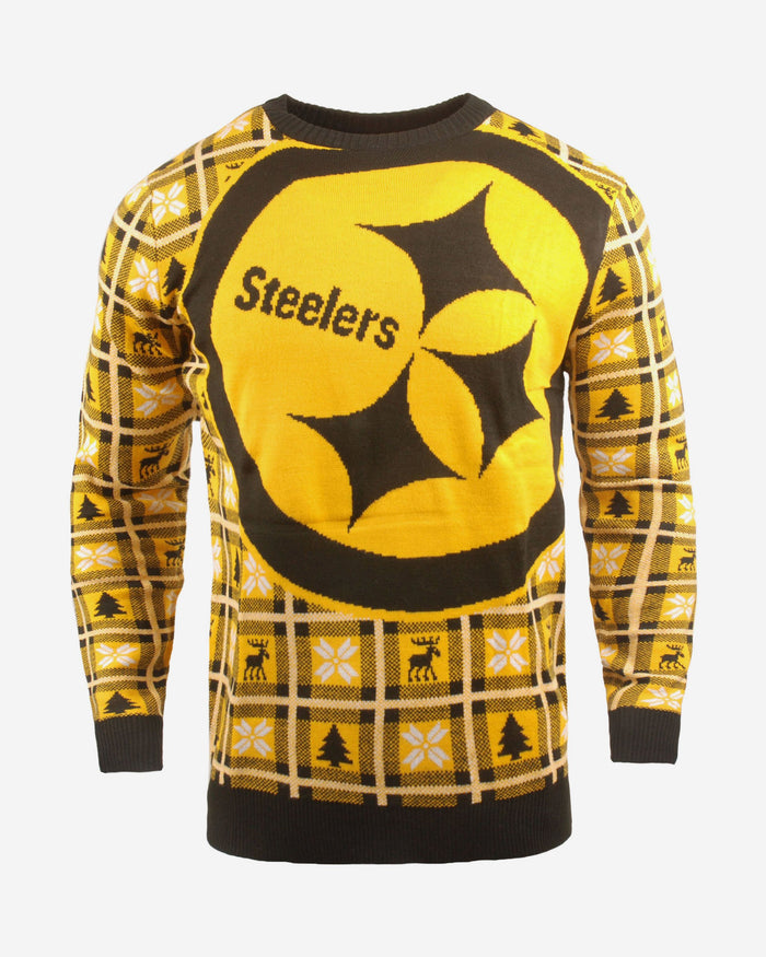Pittsburgh Steelers Big Logo Sweater FOCO S - FOCO.com | UK & IRE