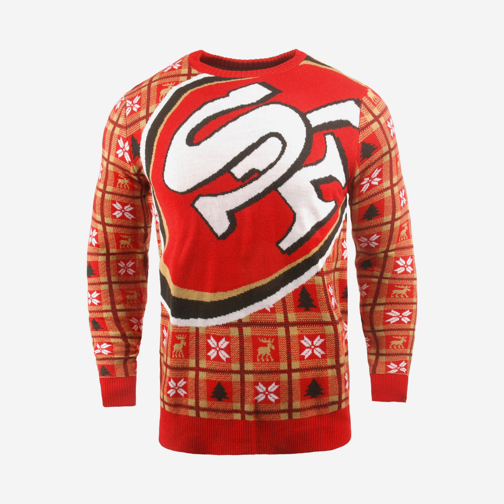 San Francisco 49ers Big Logo Sweater FOCO S - FOCO.com | UK & IRE