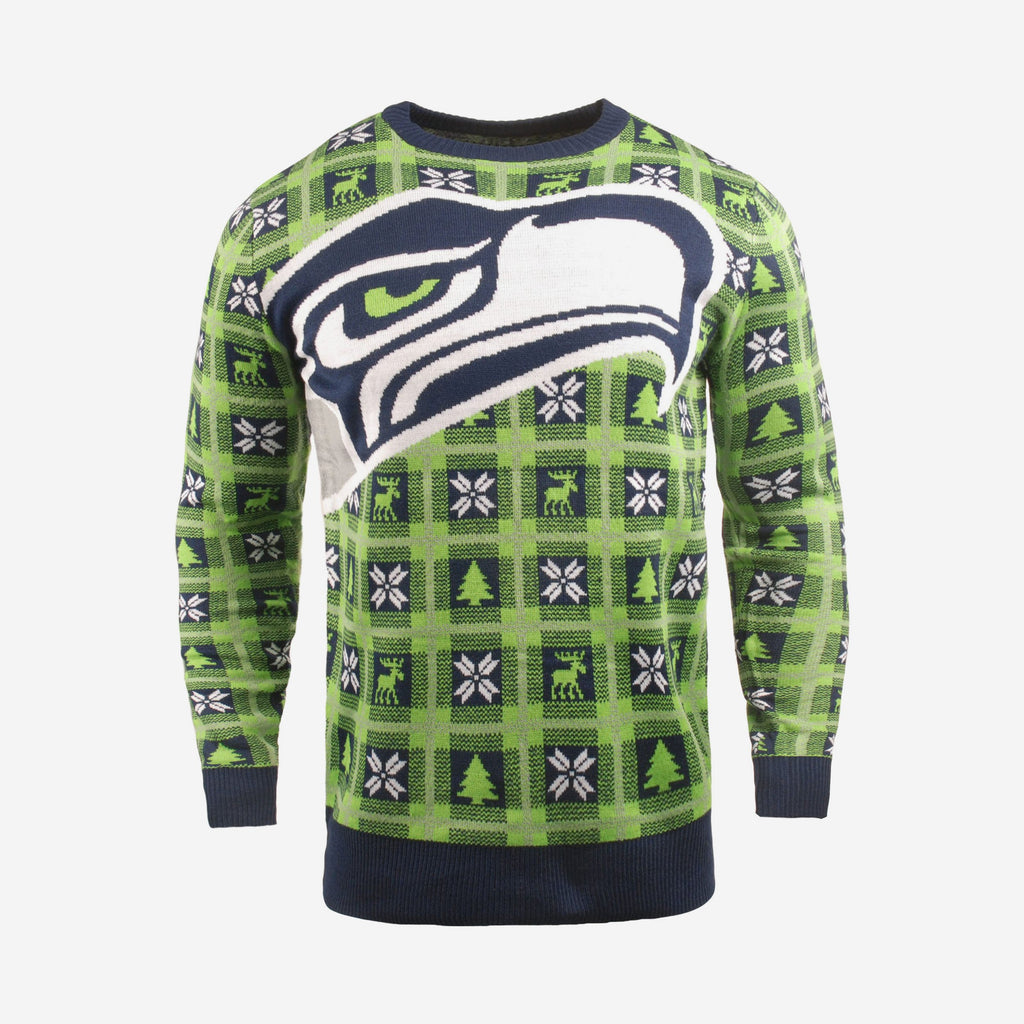 Seattle Seahawks Big Logo Sweater FOCO S - FOCO.com | UK & IRE