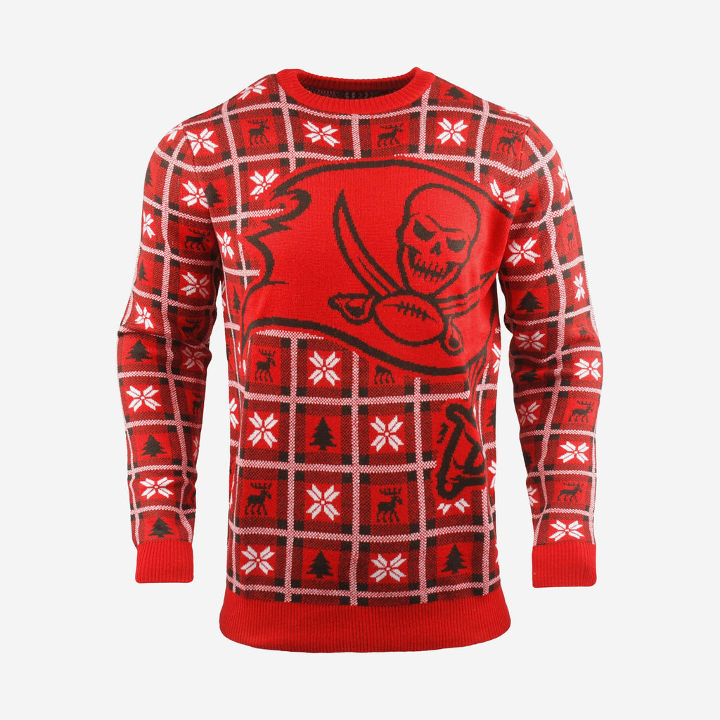Tampa Bay Buccaneers Big Logo Sweater FOCO S - FOCO.com | UK & IRE