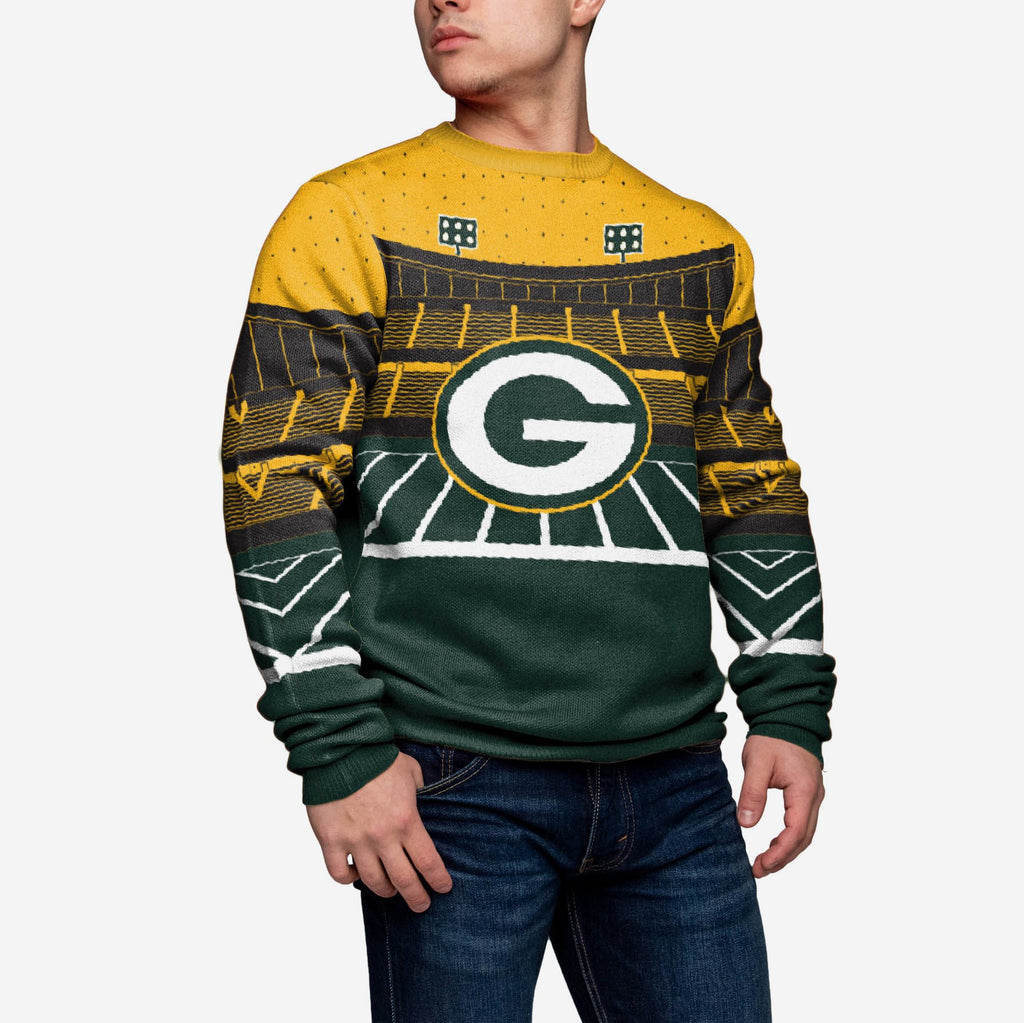 Green Bay Packers Light Up Bluetooth Sweater FOCO - FOCO.com | UK & IRE