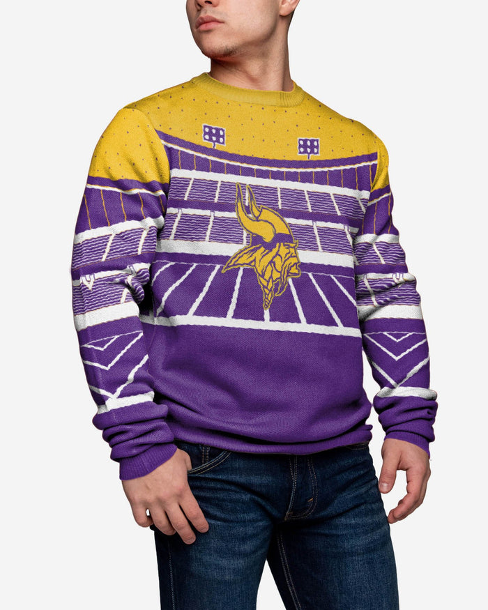 Minnesota Vikings Light Up Bluetooth Sweater FOCO - FOCO.com | UK & IRE