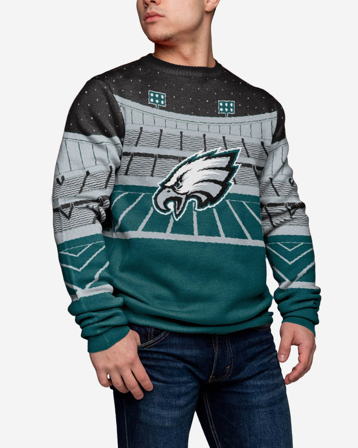 Philadelphia Eagles Light Up Bluetooth Sweater FOCO - FOCO.com | UK & IRE