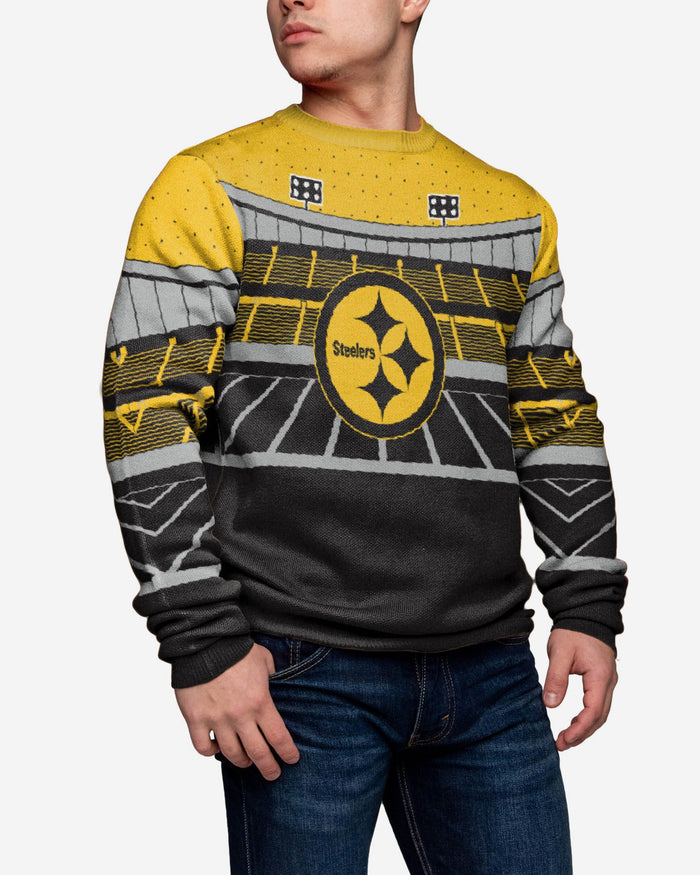 Pittsburgh Steelers Light Up Bluetooth Sweater FOCO - FOCO.com | UK & IRE
