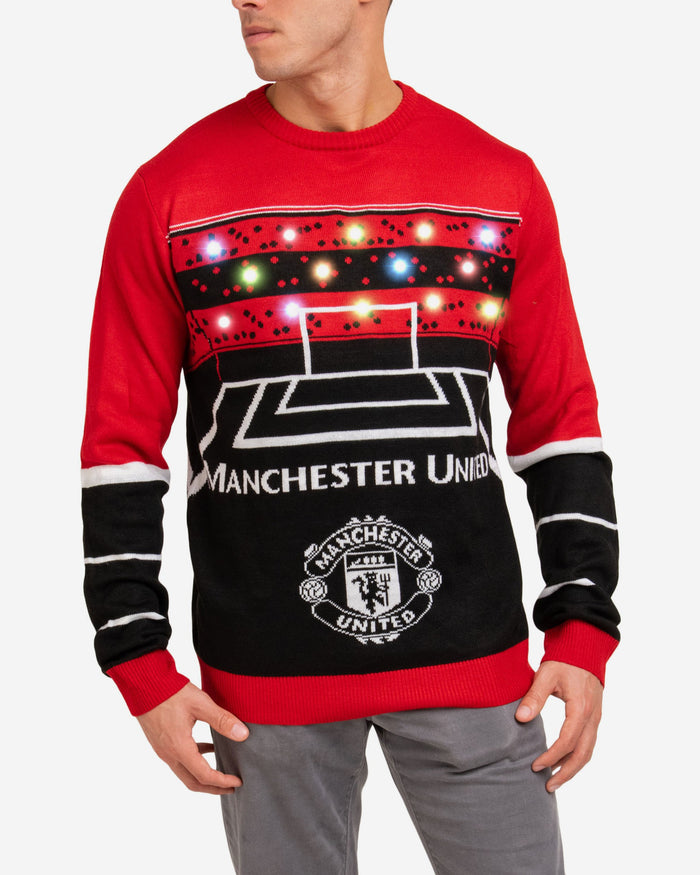 Manchester United FC Light Up Sweater FOCO - FOCO.com | UK & IRE