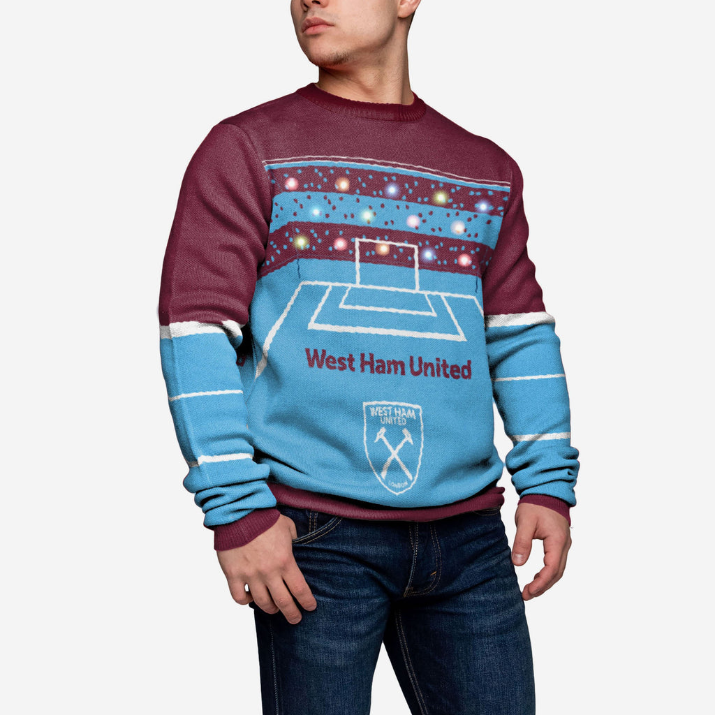 West Ham United FC Light Up Sweater FOCO - FOCO.com | UK & IRE