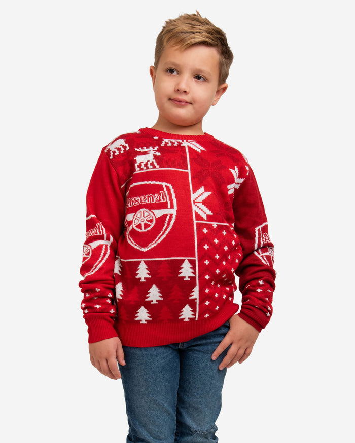 Arsenal FC Youth Christmas Sweater FOCO S - FOCO.com | UK & IRE