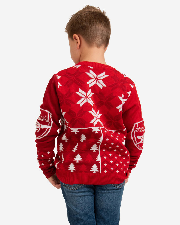 Arsenal FC Youth Christmas Sweater FOCO - FOCO.com | UK & IRE