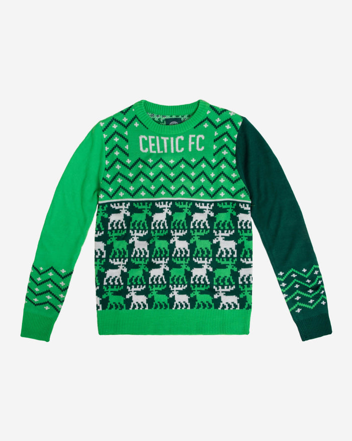 Celtic FC Youth Christmas Sweater FOCO - FOCO.com | UK & IRE