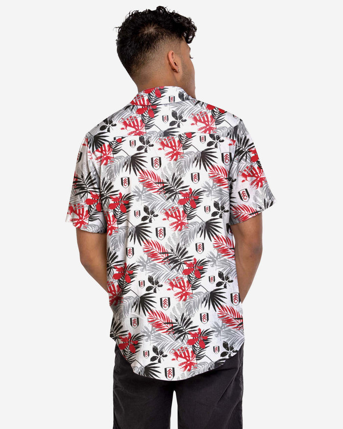 Fulham FC Floral Button Up Shirt FOCO - FOCO.com | UK & IRE