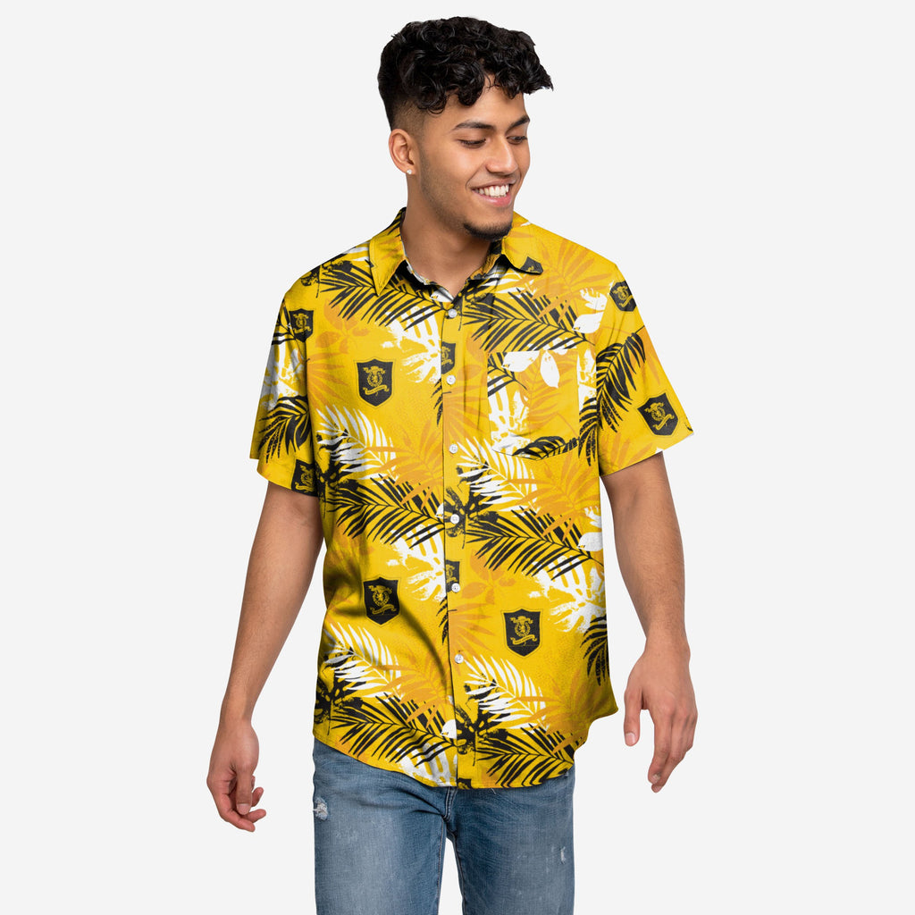 Livingston FC Floral Button Up Shirt FOCO S - FOCO.com | UK & IRE