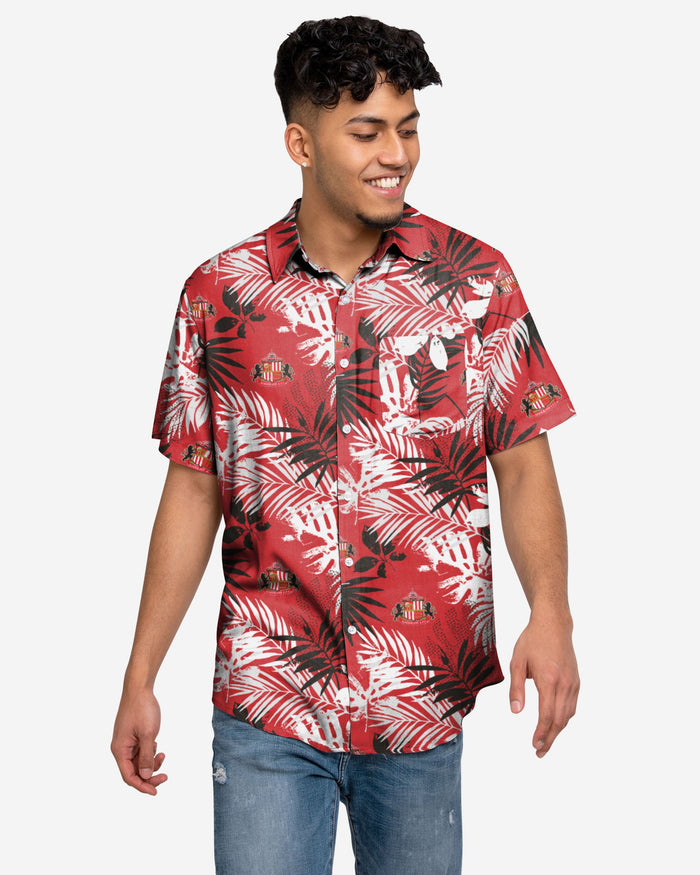 Sunderland AFC Floral Button Up Shirt FOCO S - FOCO.com | UK & IRE